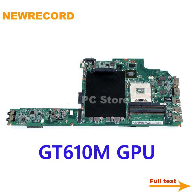 NEWRECORD DA0LZ1MB6E0 لجهاز lenovo ideapad Z380 اللوحة الأم GeForce GT610M DDR3 HM77 اللوحة الرئيسية اختبار كامل