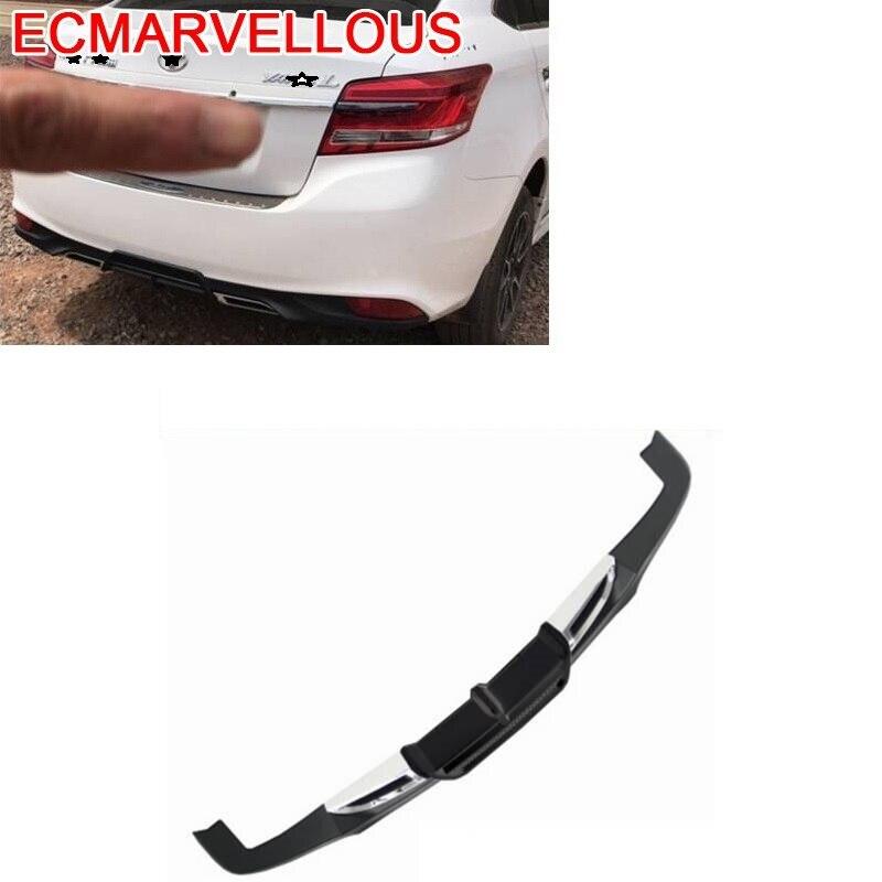 Accesorio de piezas decorativo, Diseño modificado, Tunning, difusor trasero delantero, parachoques de labio para coche 14 15 16 17 para Toyota Yaris Saloon
