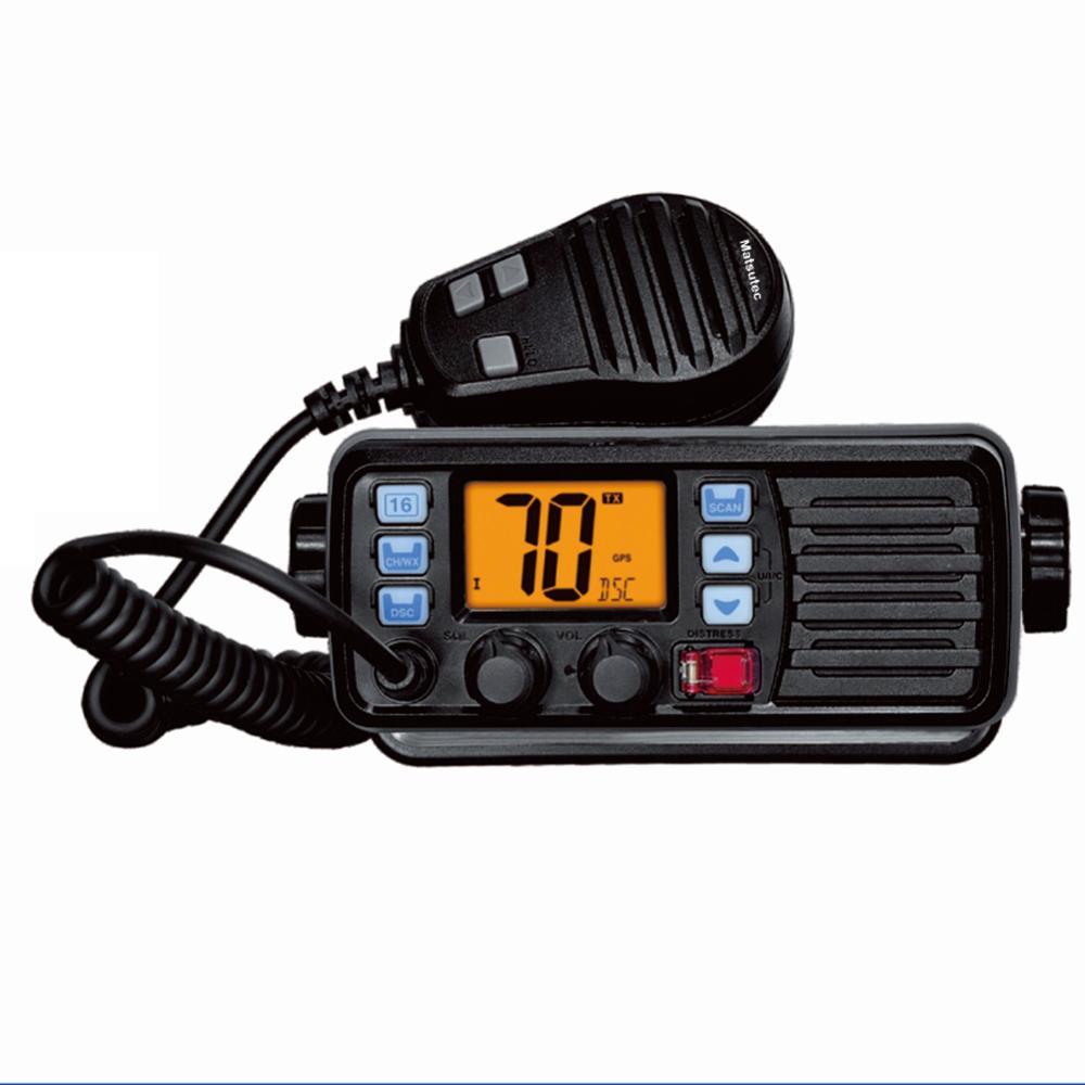 Matsutec MS-105 ship VHF Radio Transceiver telephone class D DSC IP-67 marine electronics maritime navigation communication enlarge