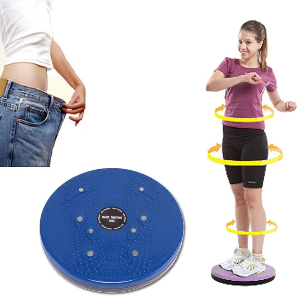 Cintura que torce o equipamento da aptidão da placa de equilíbrio do disco para o corpo em casa aeróbico girando esportes massageplate magnético exercício wobble