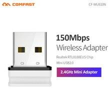 Sans fil Mini adaptateur WiFi 150Mbps WiFi récepteur USB Wifi antenne Realtek RTL8188EU 2.4G Wifi dongle USB Wi-Fi carte réseau