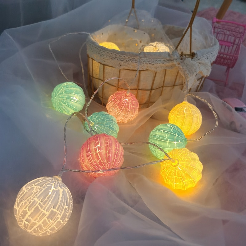usb battery powered led heart shaped fairy string lights garland light christmas holiday valentine wedding party decoration lamp Battery Powered LED Crack Garland Lights Fairy String Waterproof Indoor Lamp Christmas Holiday Wedding Party Lights Decoration