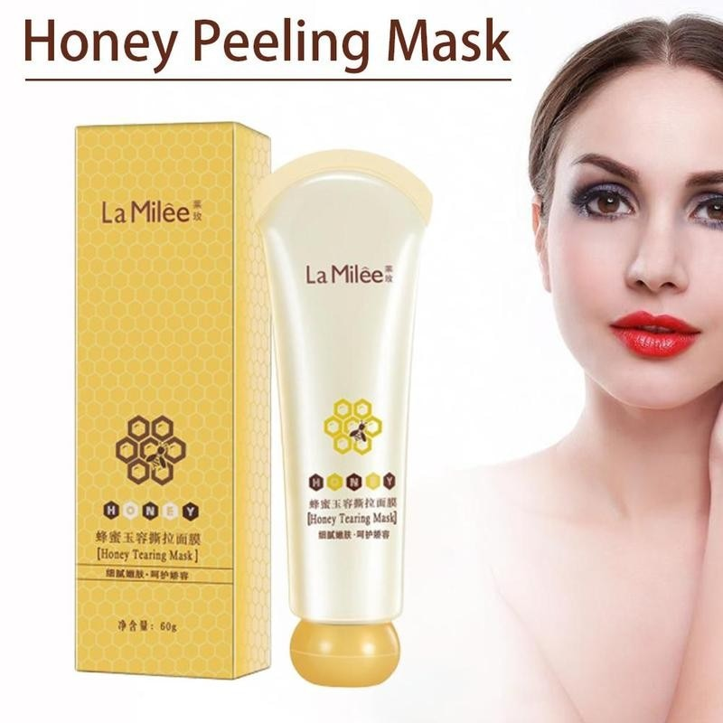 Honey Tearing Mask Peel Mask Oil Control Blackhead Shrink Face Mask Skincare Off Dead Clean Care Skin Peel Pores Remover