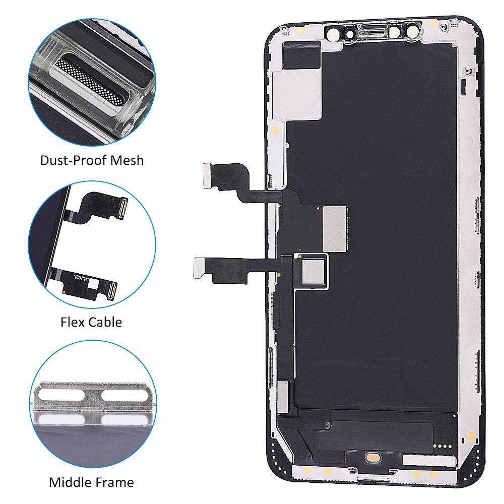 Best Quality For iPhone X XS XR XS MAX OLED 11 Pro Max Incell LCD Screen Replacement Display With 3D Touch Digitizer Assembly enlarge