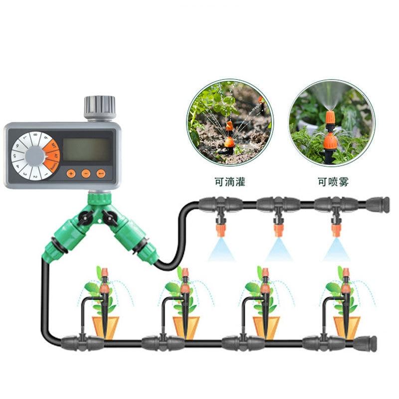 Автоматическое устройство полива, электронный контроллер системы капельного орошения для сада