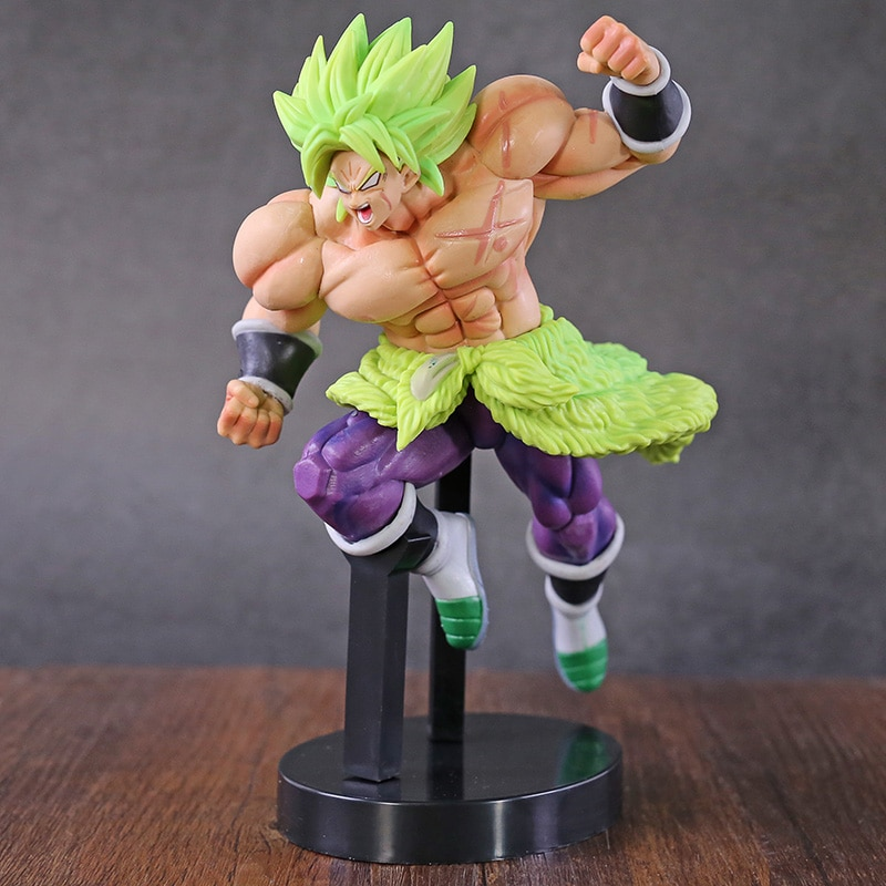 Ichiban Kuji Dragon Ball SUPER Chou Senshi batalla Retsuden Super Saiyan Broly la energía PVC figura de juguete de modelo