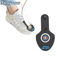 archery recurve bow competition hunting protection tool rubber pad protection foot shoes bow limb shoot essential equipment