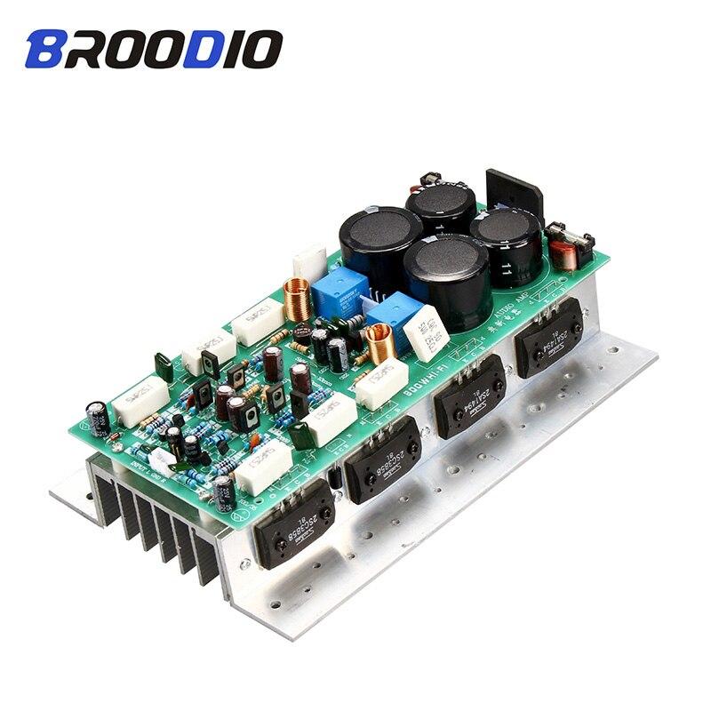Звуковая плата SanKen 1494/3858, Hi-Fi усилитель высокой мощности, двухканальный 450 Вт + 450 Вт, стерео усилитель Mono 800 Вт, Плата усилителя для звука «сделай сам»