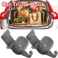 2pcspack car trunk hook umbrella hanger car accessories plant towel hook interior car organizer storage trunk organizer holder