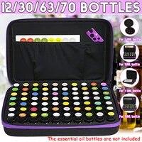 Sacs de collecte dhuiles essentielles  boite de 12 30 70 bouteilles  sacs de collecte dhuile essentielle  sac de rangement de vernis a ongles Portable de voyage de 15ML