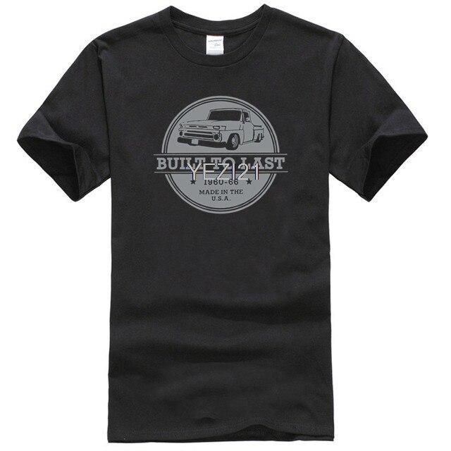 Camiseta para hombre con diseño de camión Chevy C10 1960s, camiseta para hombre, camiseta de Algodón Pesado Unisex