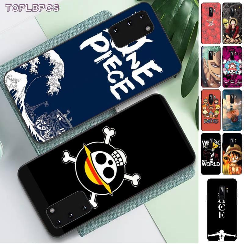 Toplbpcs uma peça japão anime caso de telefone capa para samsung s6 s10 5g s7 borda s8 s9 s10 s20 plus s10lite