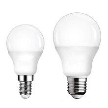 Lampada-ampoules E27 E14 AC, 220 V-240 V, 3 W, 6 W, 9 W, 15 W, 18 W, 20 W, ampoules haute luminosité, E27, projecteurs