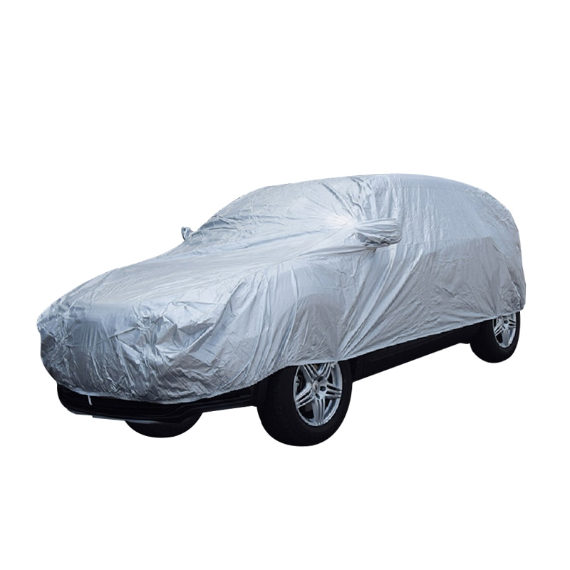 170T SUV Car cover Exterior Car Cover Outdoor Protection Full Car Covers Waterproof Dustproof Universal for  SUV