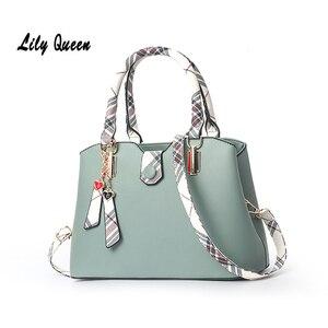 LILY QUEEN Crossbody-Shoulder-Bags Hasp Zipper Large Capacity Fashion PU Women Handbag Purse