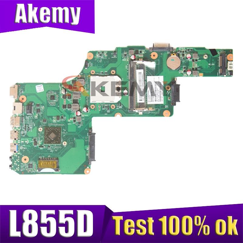 AKEMY PN 1310A2492003 SPS V000275030 توشيبا الأقمار الصناعية L855D اللوحة DDR3