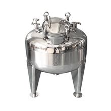 200L Pot, Boiler, Tank, Fermenter . Distillation, Rectification, Sanitary Steel 304. Working pressure 2Bar