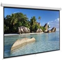 Ecran de Projection blanc mat autobloquant  pour Home cinema en plein air  60 72 84 pouces 16 9