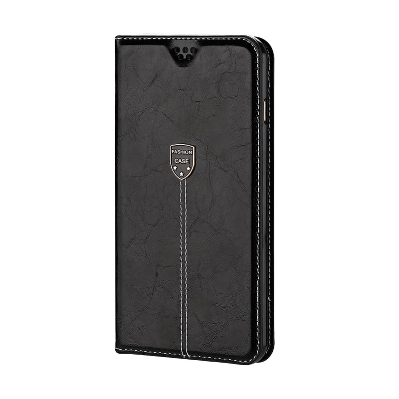 Vintage Leather Flip Cover For Xiaomi PocoPhone F1 Wallet Luxury Card Pocket Stand Book Cover Casual