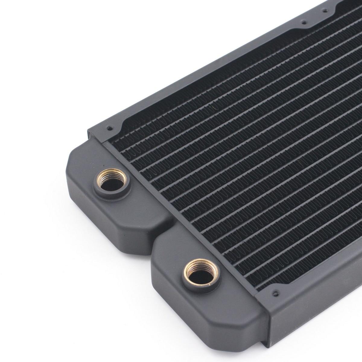 ModX 28cm 280mm 2 x 14cm Copper Radiator Liquid Water Cooling RAD280S enlarge