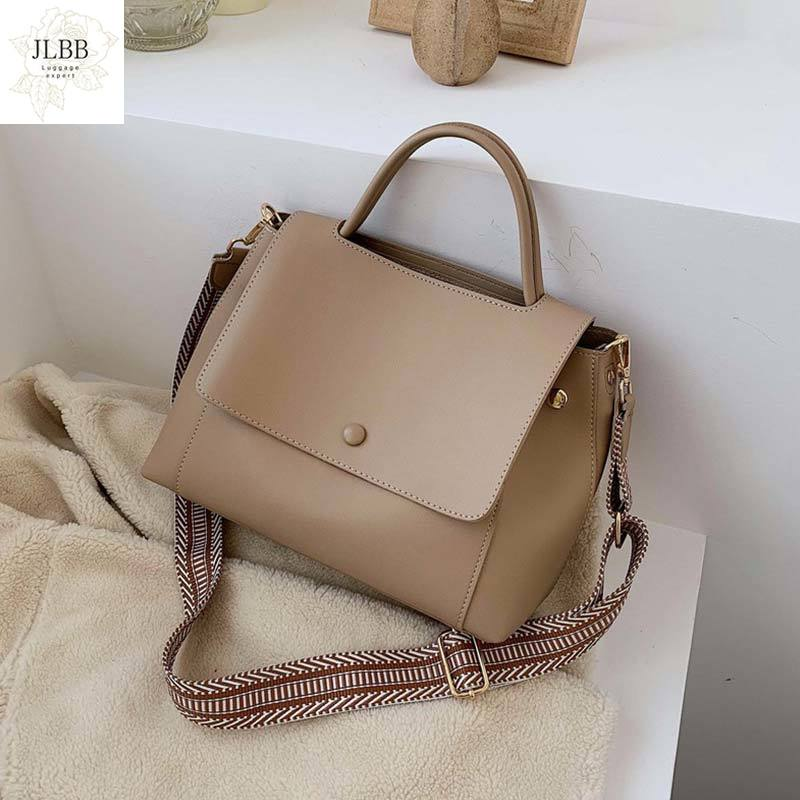 Shoulder Messenger Bag Lady Chain Travel Small Handbags Fashion Simply PU Leather Crossbody Bags For Women 2020 Solid Color
