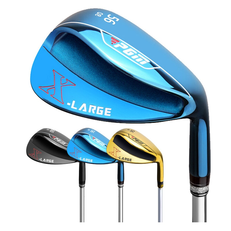 50/52/54/56/58/60/62/64 Degrees Golf Clubs Shaft Sand Club Bottom Slope Silver and Black Golf Putters Suitable for Golf Lover