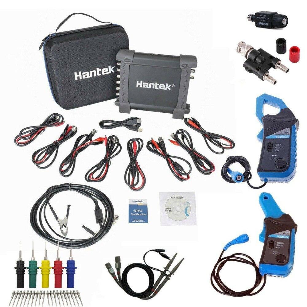 Hantek1008C USB Auto Scope DAQ 8CH Virtual Car Automotive DigitalDiagnostic Generator Vehicle Test Current Clamp Oscilloscope