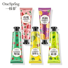 Moisturizing Hand Cream 100% Plants Essence Nourishing Anti Chapping Oil Control Repairing Portable