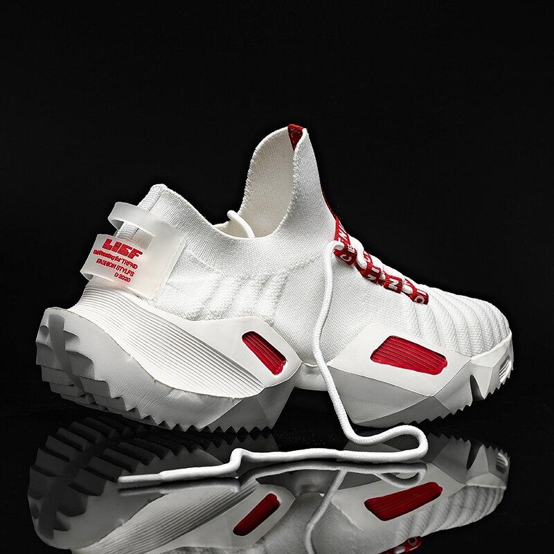 Мужские кроссовки для бега дизайнерская светильник дышащая мужская Спортивная дышащая обувь для бега на открытом воздухе обувь для теннис...