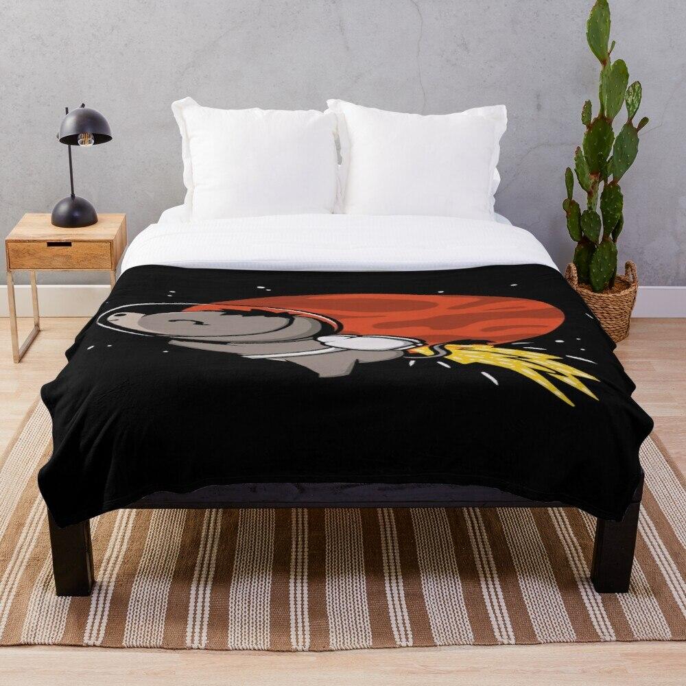 Mana Tee Potion Throw Bland Sherpa manta de cama de una sola rodilla manta para siesta Oficina