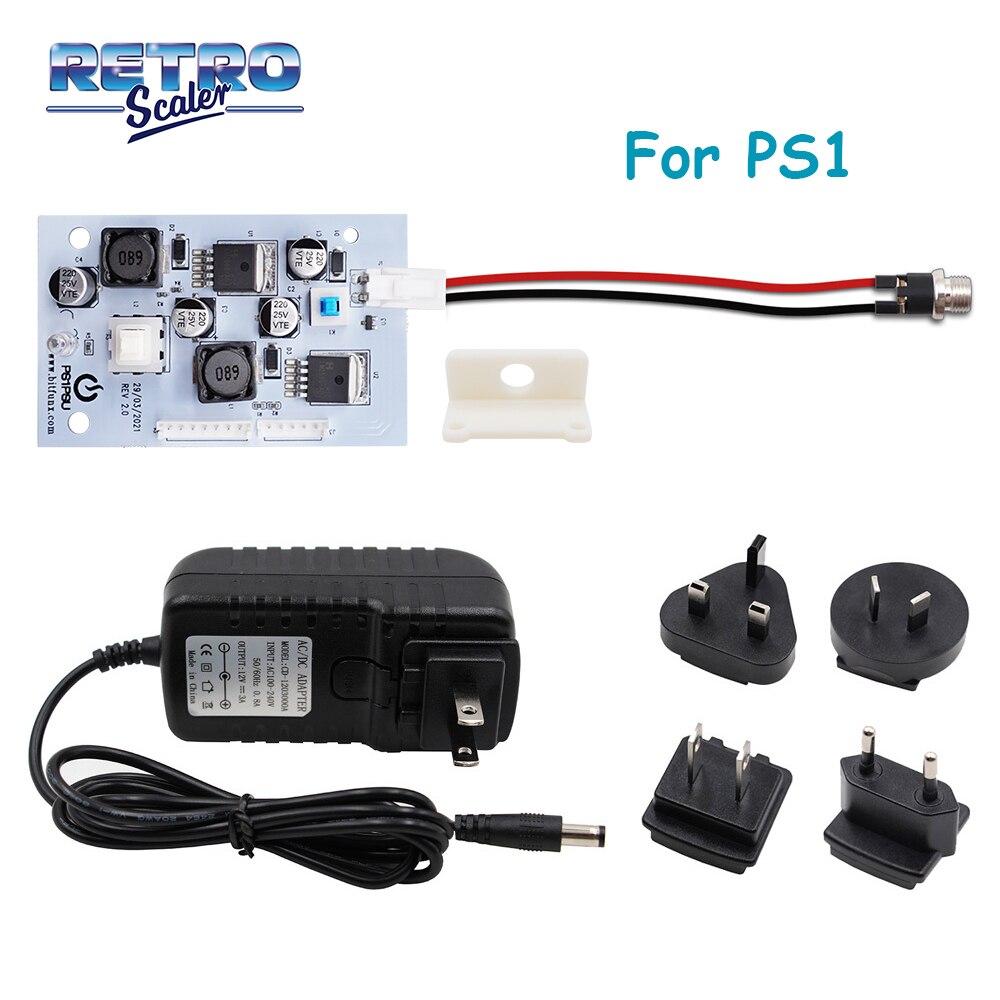 ريتروسكالر Rev 2.0 PS1PSU امدادات الطاقة لاستبدال PS1 الدهون وحدة التحكم الأصلي امدادات الطاقة