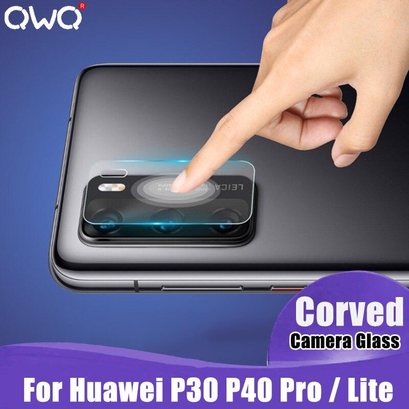 Cristal Protector de cámara para Huawei P30 P40 P20 Pro Mate 20 30 10 Lite Protector de pantalla de lente para P Smart 2019 vidrio templado Flim