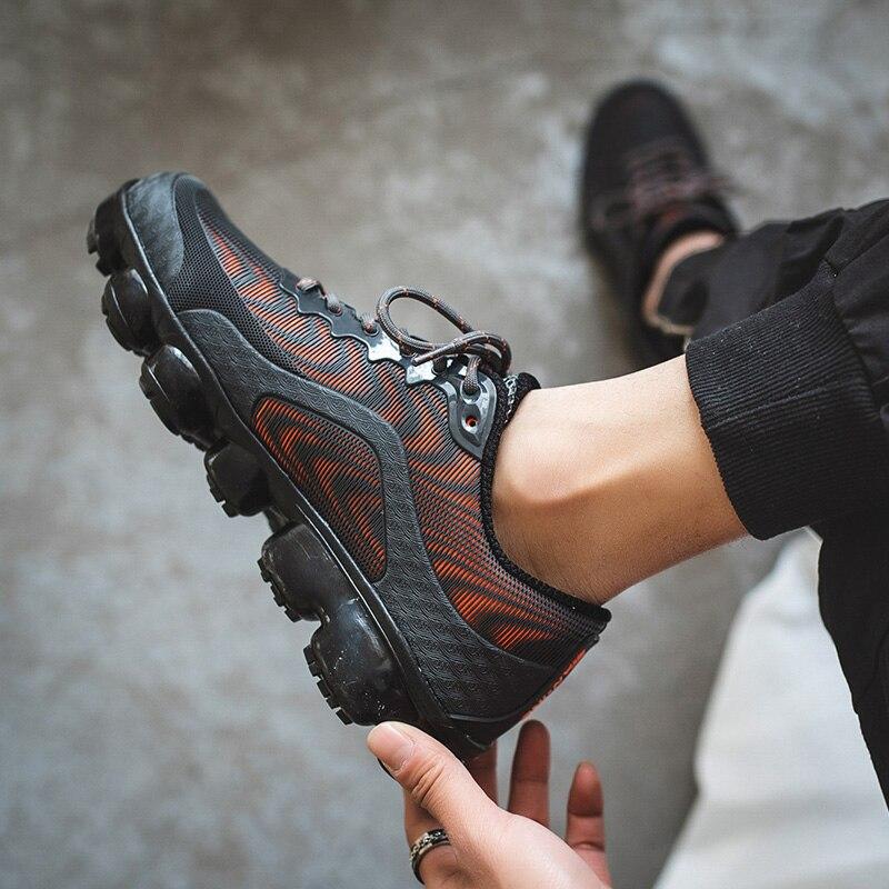 Дышащие кроссовки для бега, легкая Удобная Нескользящая спортивная обувь для бега, повседневные Большие размеры, 46