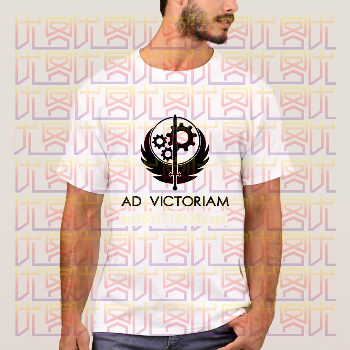 Camisetas informales con logotipo negro, ropa de algodón para 100%, camisetas para hombre, camisetas de la Hermandad de acero, S-4XL novedosa de verano 2020 para hombres y mujeres