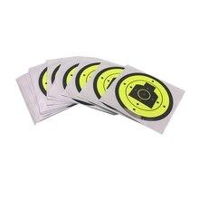 Hunting 100Pcs/Lot Fireing Target Splatter Blossom Target Stickers Diameter 3 Inch /7.5Cm