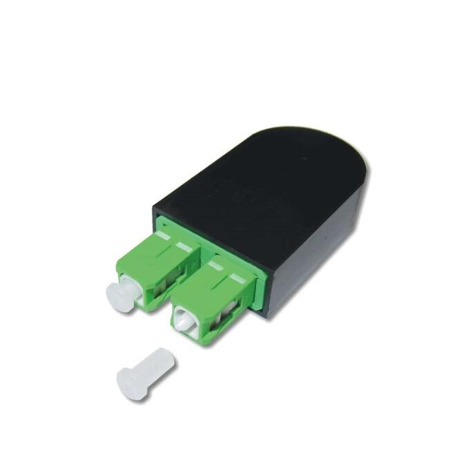 Conectores da fibra ótica do sc dos circuladores do sc dos circuladores da fibra ótica do único modo de sc/apc loopback