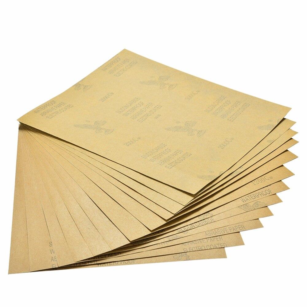 5 шт. сверхтонкая наждачная бумага, наждачная бумага для воды, шлифовальные инструменты для полировки, абразивная бумага с зернистостью 1000 #...