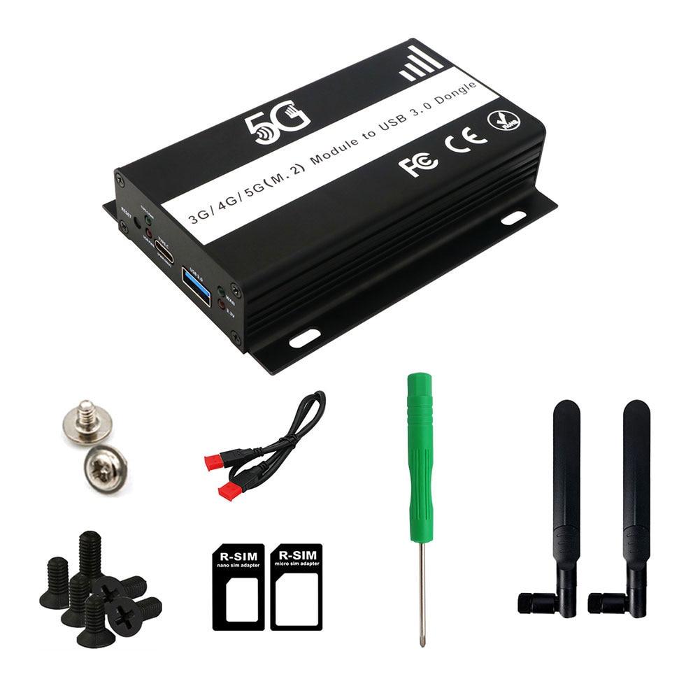 Адаптер M.2-USB 3,0 антенна B Ключ NGFF беспроводной преобразователь карты с слотом для SIM-карты для SIM Micro SIM NANO SIM 3G 4G фотомодуль