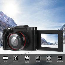 Digital Full HD 1080P 16MP Camera Professional Video Camcorder Vlogging Flip Selfie Camera