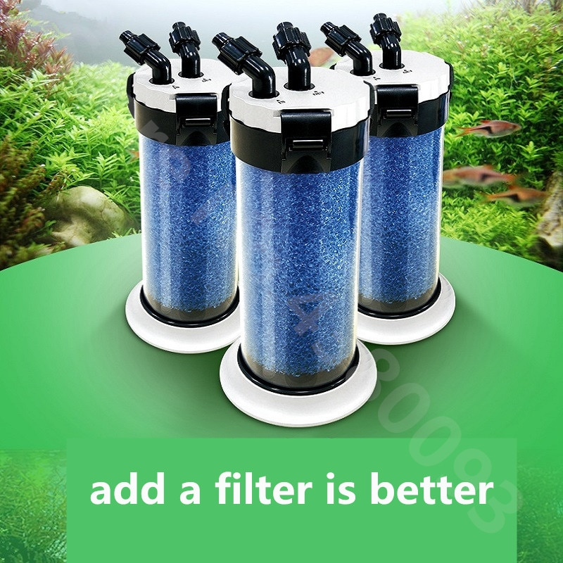 Günstige Atman Pre Filter für Aquarium Aquarium Externe Filter Barrel QZ30 Schildkröte Jar Externe Barrel Filter Pumpe
