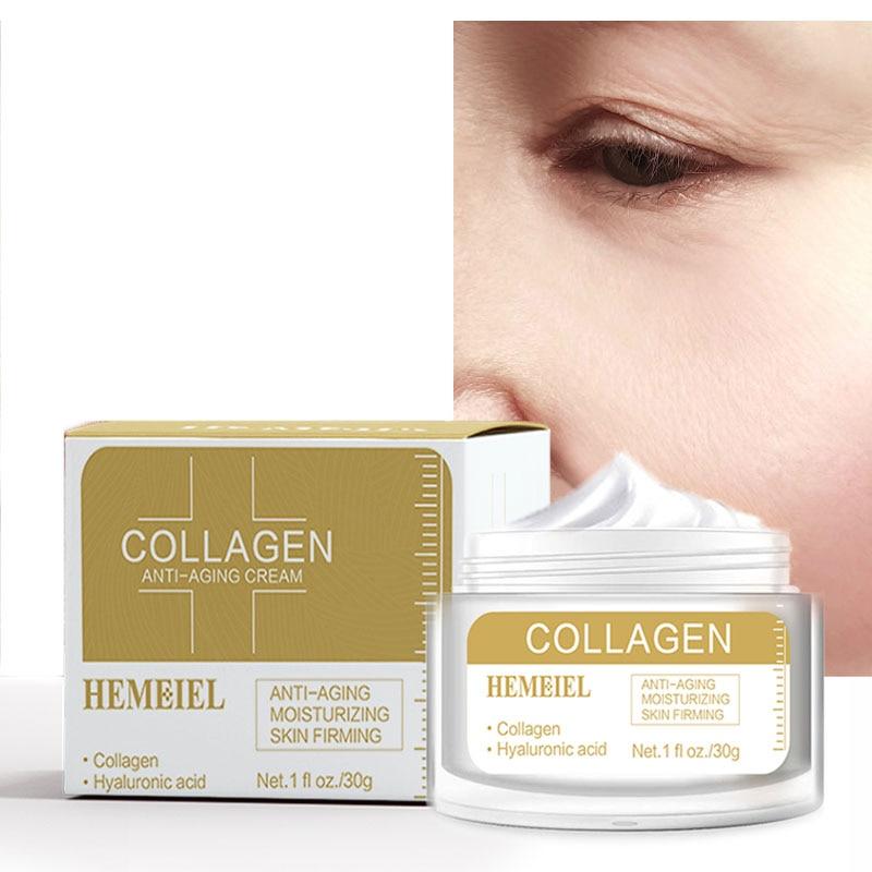 Face Cream Collagen Anti-aging Whitening Facial Cream Hyaluronic Acid Moisturizing Anti-Wrinkle Korean Skin Care недорого