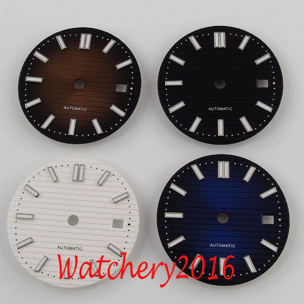 Reloj de 29,8mm Ajuste de esfera estéril 2836 2824 2813 3804 movimiento de la serie Miyota 82