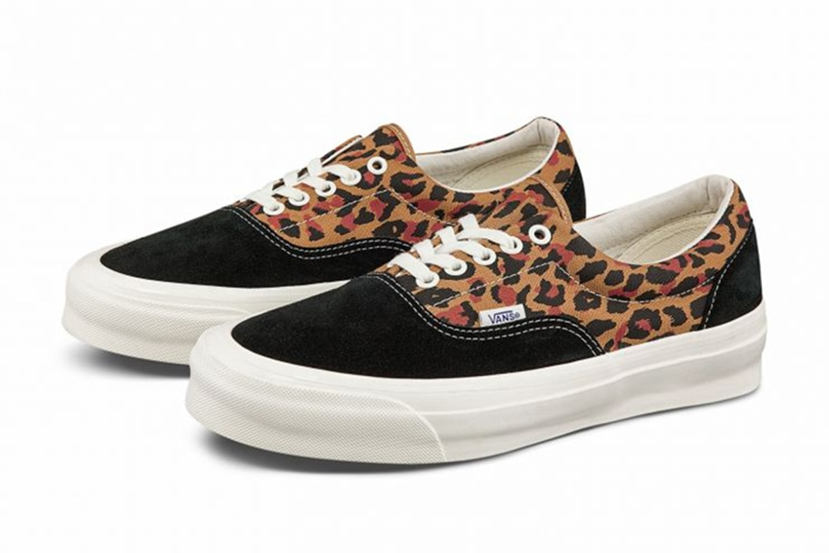 Vance canvas sneakers classic Vance low-top leopard print comfortable outdoor high-top skateboard co