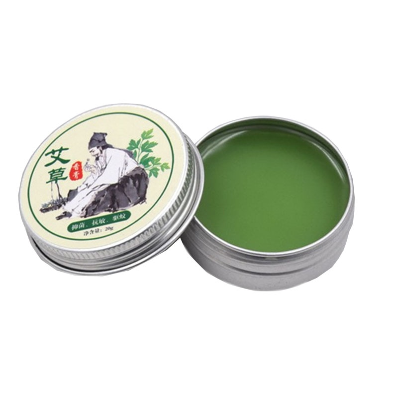CN HERB Moxa grass oil 20G adjustable artemisia oil mosquitoes itching Drive midge moxibustion moxibustion partner cream cool and refreshing oil adjustable artemisia oil mosquitoes itching drive midge moxibustion moxibustion partner cream