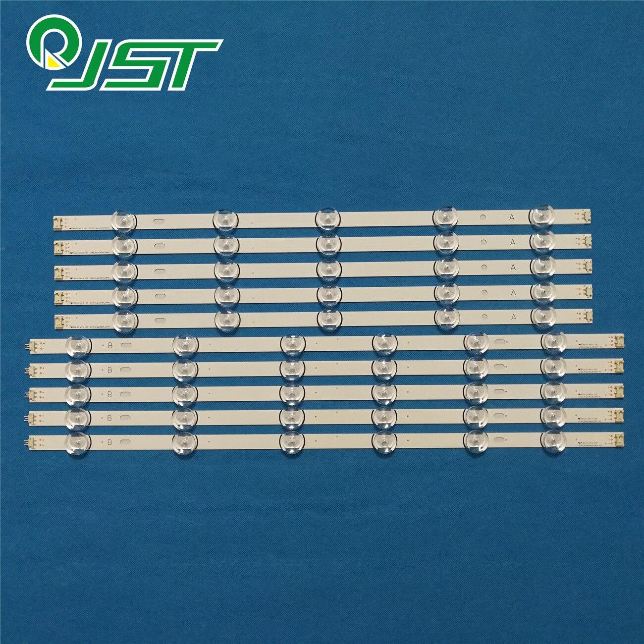 100% New 30pcs=3Kits LED strips for L G TV 55LB5670 CR 55LB570V ZB 55LB570U ZK AGF78401601 LC550DUE FGM4 6916L 1987A 6916L 1988A