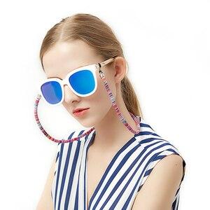 Веревочные очки цепь шею шнур ремни для очков ручной работы маска цепочка-держатель Линзы для очков Солнцезащитные очки для женщин из хлопк...
