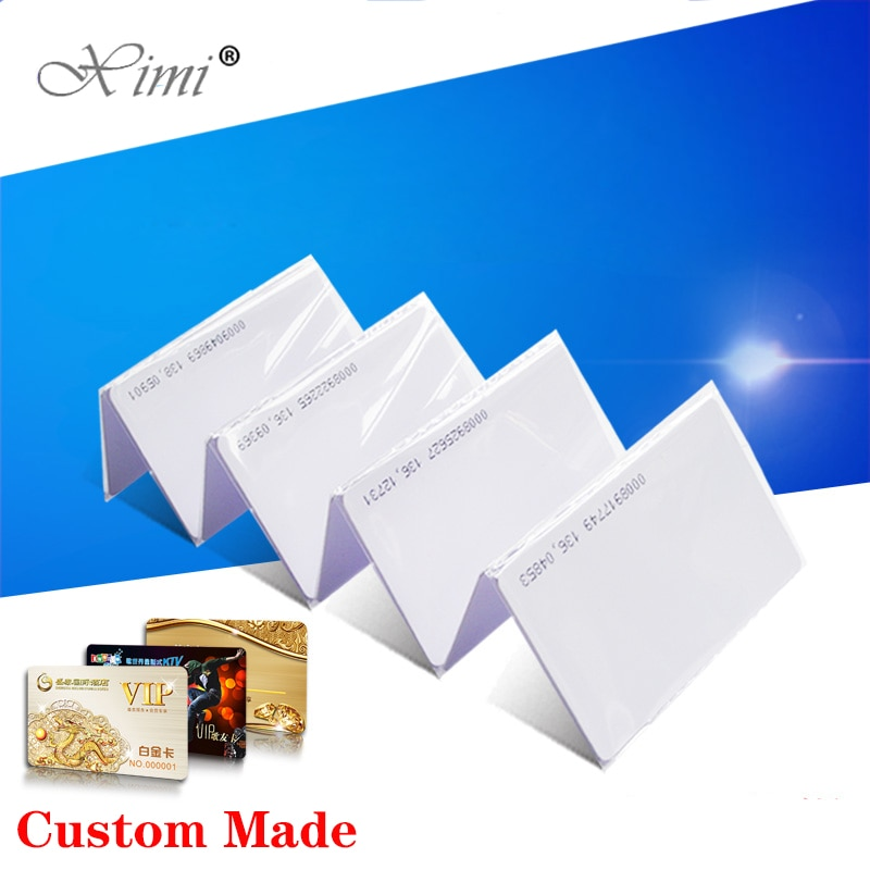 EM/MF Card Smart Proximity Card For Access Control And Time Attendance System TK4100/EM4200/F1108 chip ID/IC RFID card