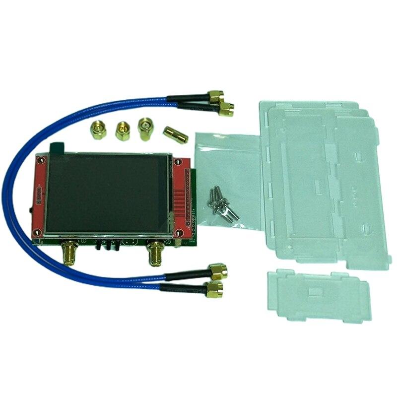 nanovna analisador de rede v2 28 espacos lcd vhf e uhf uv 50khz 3ghz antena