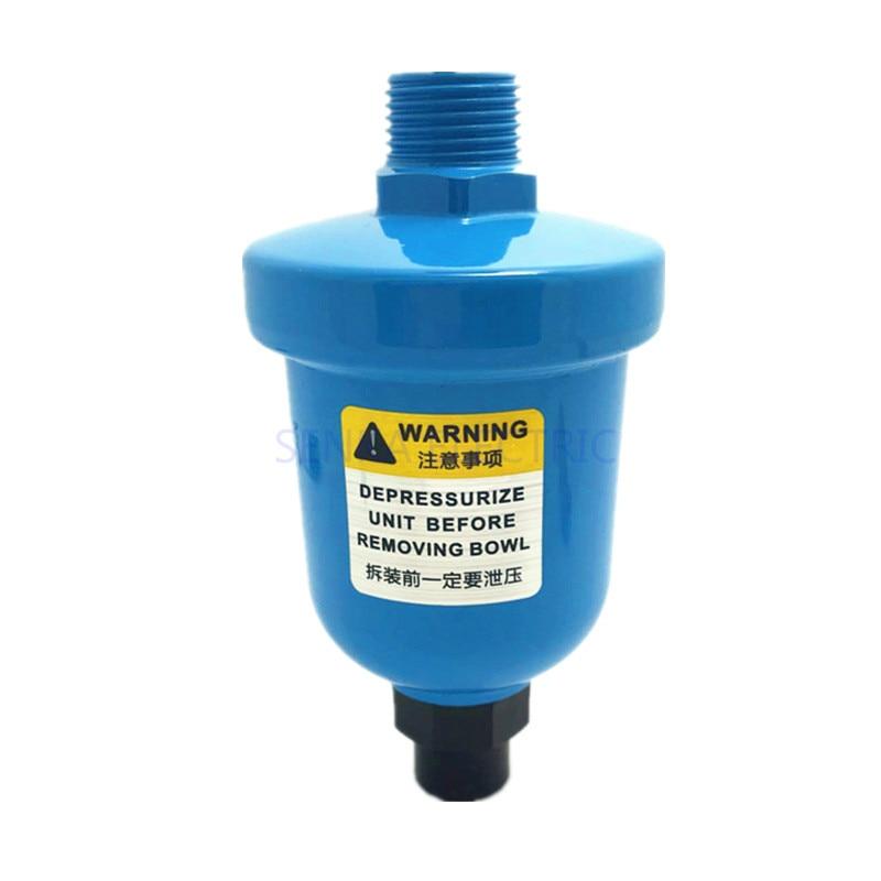 AliExpress - Pneumatic Air Compressor Valve Automatic Drainer Air Water Trap Aluminum Mini Cup Type Air Compressor Auto Drain