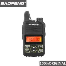 100% Original BAOFENG BF-T1 MINI talkie-walkie UHF 400-470MHz Portable T1 bidirectionnel Radio jambon Radio Amador Micro USB émetteur-récepteur